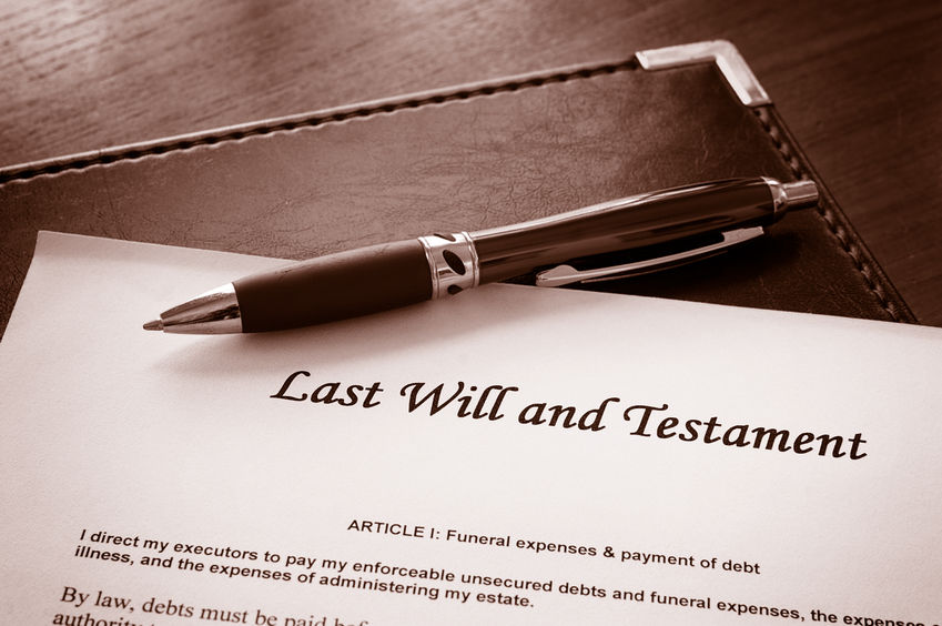 What legal issues should you consider in later life?